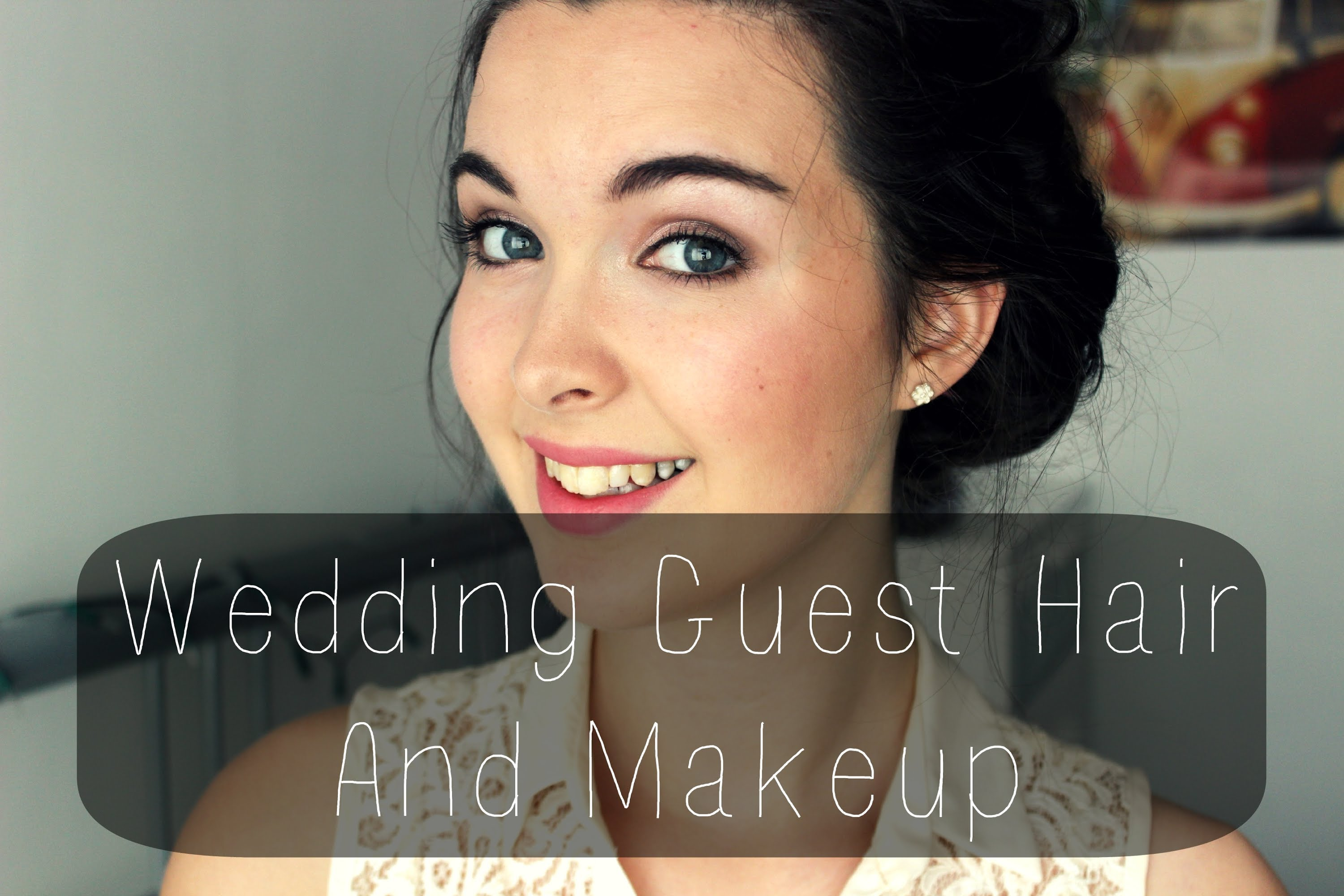 Wedding Guest Hair and Makeup Tutorial