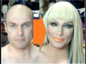Male-to-Female Transformation #2: Drag Make-Up Tutorial ...